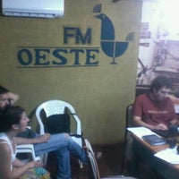 Photo taken at FM Oeste 106.9 by Fer I. on 1/16/2012