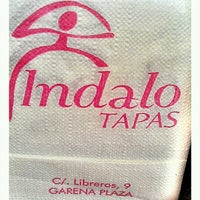 Photo taken at Indalo Tapas by Ch M. on 10/15/2011