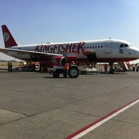 Photo taken at Pune Airport (PNQ) by kousuke on 2/13/2012