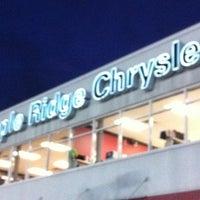 Photo taken at Maple Ridge Chrysler by Sean B. on 9/27/2011