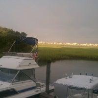 Photo taken at Murrell's Inlet Marshwalk by ⭐Amanda M. on 7/28/2012