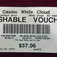 Photo taken at White Cloud Casino by Reece C. on 10/7/2011