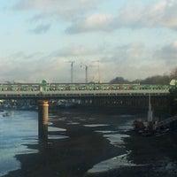 Photo taken at Putney Bridge by Steve H. on 12/17/2011