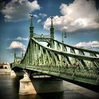 Photo taken at Liberty Bridge by Gábor S. on 8/9/2011