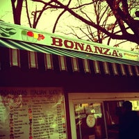 Photo taken at Bonanza Stand of Oyster Bay by McRossettie on 11/27/2011