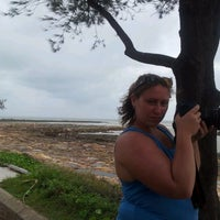 Photo taken at Nightcliff Foreshore by Jessica W. on 1/28/2012