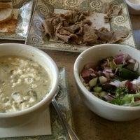 Photo taken at Greek City Cafe by Niccole K. on 8/3/2012