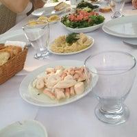 Photo taken at Bizim Gazino Balık Restorant by Begum B. on 5/13/2012