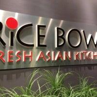 Photo taken at Rice Bowl Asian Kitchen by Vikki W. on 3/19/2012