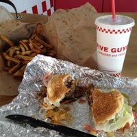 Photo taken at Five Guys by Carla H. on 3/4/2012