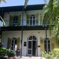 Photo taken at Ernest Hemingway Home & Museum by Tina B. on 8/15/2012