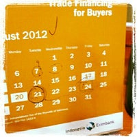 Photo taken at Indonesia Eximbank | Lembaga Pembiayaan Ekspor Indonesia by Andi H. on 8/10/2012