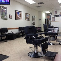 Photo taken at Airmont Unisex Barber by Stephen M. on 8/5/2012