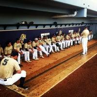 Photo taken at FIU Baseball Stadium by Mathew R. on 2/10/2012