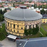 Photo taken at Panometer Dresden by Mathias T. on 6/25/2012