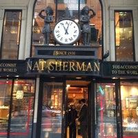 Photo taken at Nat Sherman Townhouse by Nik B. on 5/2/2012