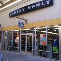 ... Photo taken at Oakley Vault by Chris H. on 7/7/2012 ...