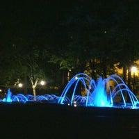 Photo taken at Tašmajdanski park by Milica M. on 7/21/2012