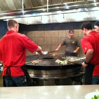 Photo taken at bd's Mongolian Grill by Abbie H. on 3/20/2012