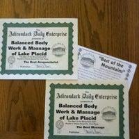 Photo taken at Balanced Body Work & Massage by Tim C. on 5/11/2012