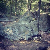 Photo taken at Turtle Back Rock by Alexandra P. on 8/31/2012