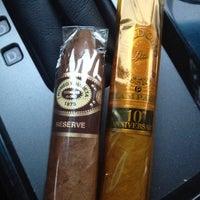 Photo taken at Davidus Cigars by Jonathan B. on 6/19/2012