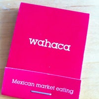 Photo taken at Wahaca by Sandra M. on 7/10/2012