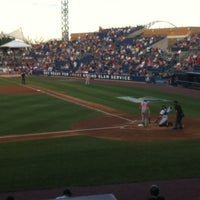 Photo taken at Richmond County Bank Ballpark by Kathy B. on 7/21/2012