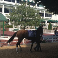 Photo taken at Monmouth Park Racetrack by amanda b. on 7/1/2012