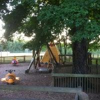 Photo taken at Crockett Park by Shannon V. on 8/19/2012