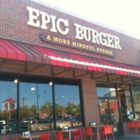 Photo taken at Epic Burger by Jessica on 4/17/2012