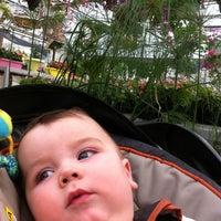 Photo taken at Eckert's Greenhouse by David C. on 6/24/2012