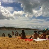 Photo taken at Praia da Direita by Paula V. on 2/22/2012