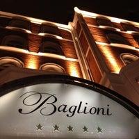Photo taken at Baglioni Hotel by W R. on 4/26/2012