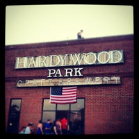 Photo taken at Hardywood Park Craft Brewery by Amy on 7/5/2012