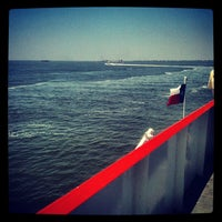 Photo taken at Galveston - Bolivar Ferry by Corey S. on 5/18/2012