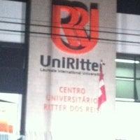 Photo taken at Centro Universitário Ritter dos Reis (UniRitter) by @Léia™ on 6/4/2012