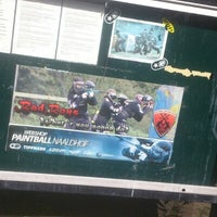 Photo taken at Paintball de Naaldhof by Jim Z. on 8/12/2012