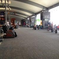 Photo taken at Terminal B by Jetzahel M. on 5/11/2012