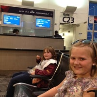 Photo taken at Gate C25 by Brent C. on 4/20/2012