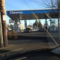 Photo taken at Chevron by Christin M. on 2/3/2012