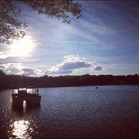 Photo taken at Lago de la Casa de Campo by Hermes M. on 8/15/2012