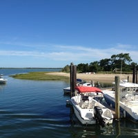 Photo taken at Barnstable harbor by Hristo on 8/26/2012