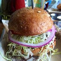 Photo taken at Bareburger by Justin P. on 6/7/2012