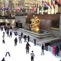 2/18/2012にStalk El GuapoがThe Rink at Rockefeller Centerで撮った写真