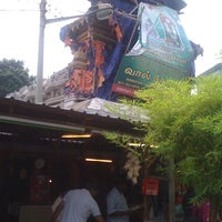 Photo taken at Sree Veera Hanuman Temple by Vijay K. on 8/4/2012