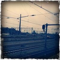 Photo taken at Maastricht Railway Station by Erik M. on 4/17/2012
