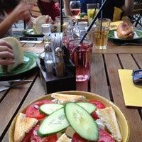 Photo taken at Bocadillo Café by Tamas K. on 7/23/2012