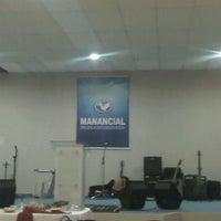 Photo taken at Igreja Manancial by Paulo N. on 4/8/2012