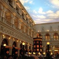 Photo taken at Canaletto Ristorante Veneto Las Vegas by C W. on 3/30/2012